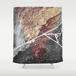 Tri-Mou Shower Curtain