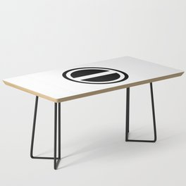 Curtis Holt Logo (Black) Coffee Table
