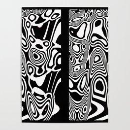 Tiki Totem Tribal Print Poster