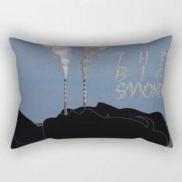 The Big Smoke - Dublin Rectangular Pillow