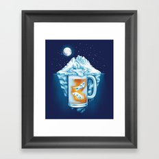 The Polar Beer Club Framed Art Print