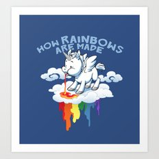 How Rainbows Are Made Art Print