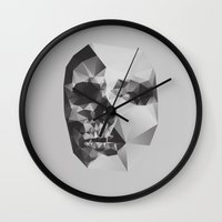 death Wall Clocks featuring Life & Death. by David