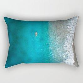 Backstroke Rectangular Pillow