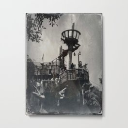 Tarzan Treehouse by Topher Adam 2017 Metal Print