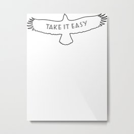 The Eagles - Take it easy Metal Print