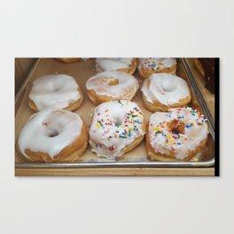 Sweet Sprinkled Carbs Canvas Print