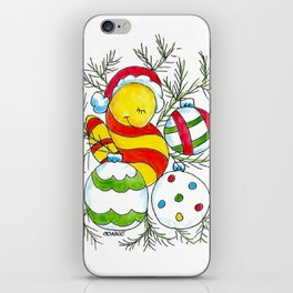 Christmas Cuddle iPhone Skin