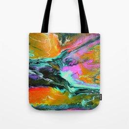 Abstract ORANGE Tote Bag