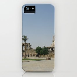 Temple of Luxor, no. 8 iPhone Case