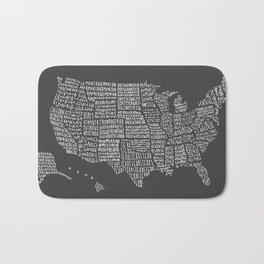 United States map Bath Mat