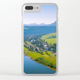 Rathen and the Elbe river Clear iPhone Case