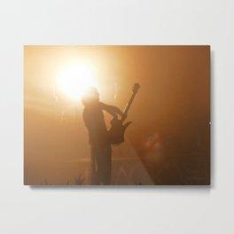 Guitarist Metal Print