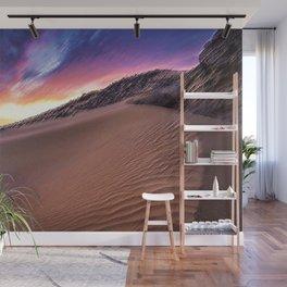 Sahara Desert Landscape Painting by Jeanpaul Ferro Wall Mural