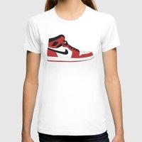 air jordan T-shirts featuring Air Jordan 1 by Dennis Cortes