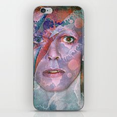 David Bowie iPhone & iPod Skin