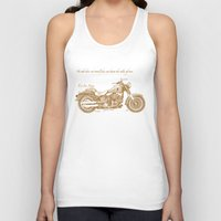 notebook Tank Tops featuring Travel Plan by Megs stuff