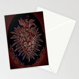 Sacred Heart Stationery Cards