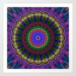 Mandala Colorexplosion Art Print