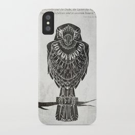 Listen To The Owl iPhone Case