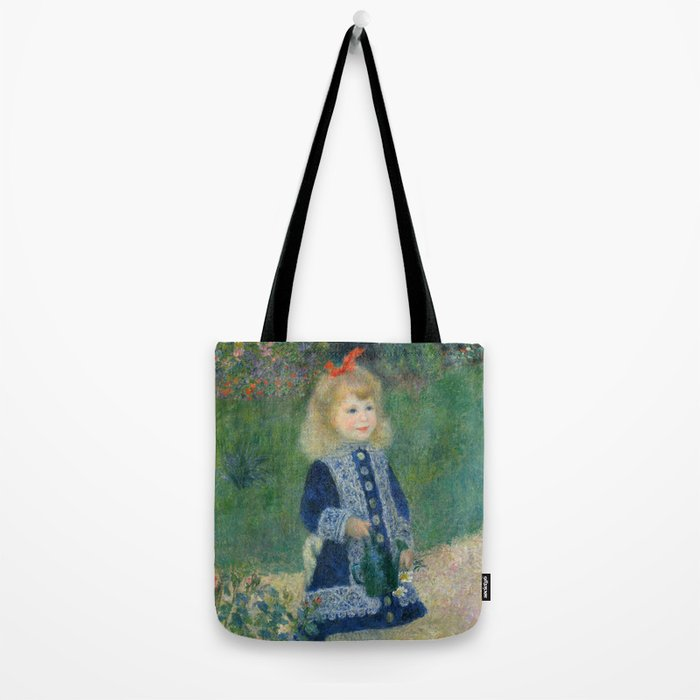 Renoir A With Watering Can Tote Bag