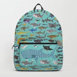 I Heart Sharks Backpack