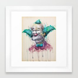 Krusty Framed Art Print