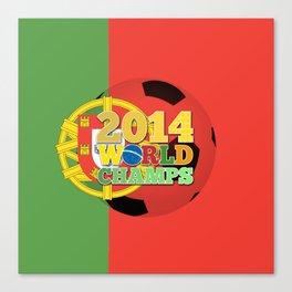 2014 World Champs Ball - Portugal Canvas Print