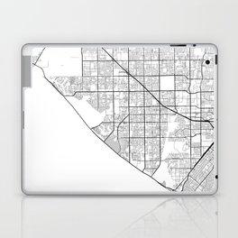 Minimal City Maps - Map Of Huntington Beach, California, United States Laptop & iPad Skin