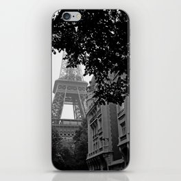 Eiffel Tower in Hiding iPhone Skin