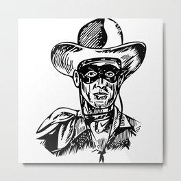 Lone Ranger 2 Metal Print