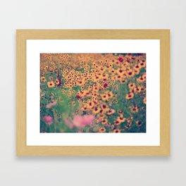 Mellow Meadow Framed Art Print