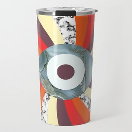 Hypno Retro Eye Travel Mug