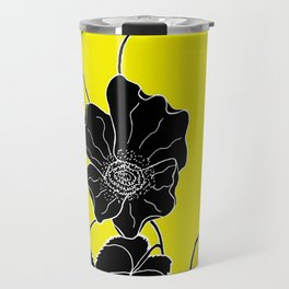 Desert Lantern - Abutilon leucopetalum Travel Mug