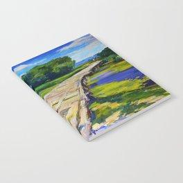 Wooden bridge Notebook
