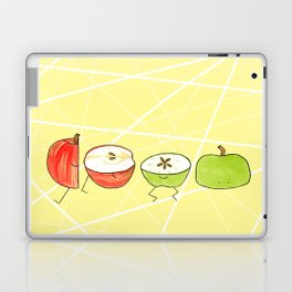 Apple Halves Laptop & iPad Skin