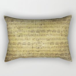 Music is what feelings sound like Rectangular Pillow