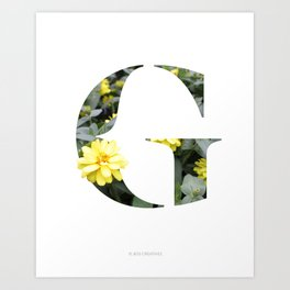 LL Series: G Art Print