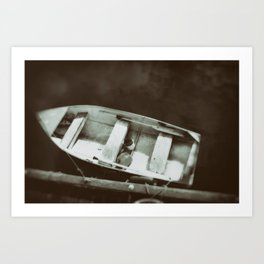 Row, Row, Row Your Boat Art Print