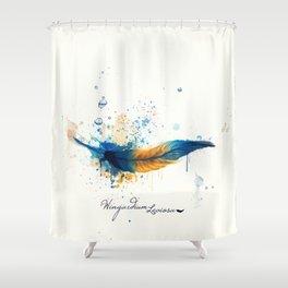 Wingardium Leviosa Shower Curtain