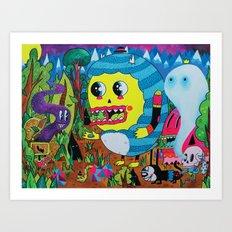 The Treasure Hunters Art Print