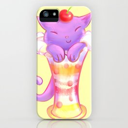 Sorbet Cat iPhone Case