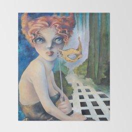 The Masquerade, Lucia Throw Blanket