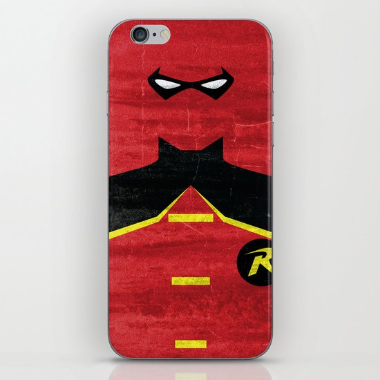 Boy Wonder iPhone & iPod Skin