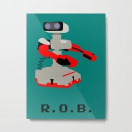 Vintage ROB  Metal Print