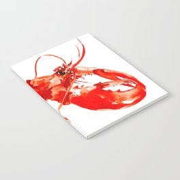Red Kitchen Seafood Red Lobster design, art, painting Boston Notebook