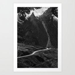 Roads of Bolivia Art Print