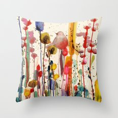 ce doux matin Throw Pillow