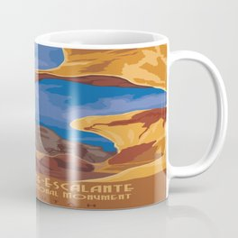 Vintage poster - Grand Staircase-Escalante Coffee Mug
