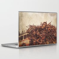 junk food Laptop & iPad Skins featuring Junk  by Terry Fan